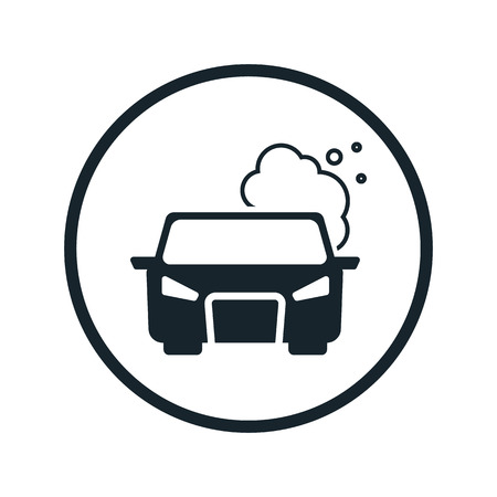 smog: pollute the air icon