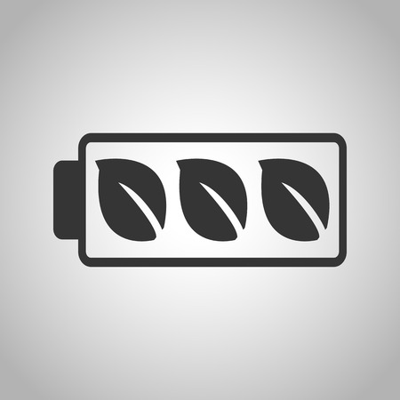 renewing: eco battery icon