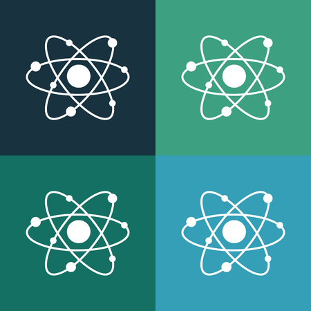 neutron: atom icon Illustration