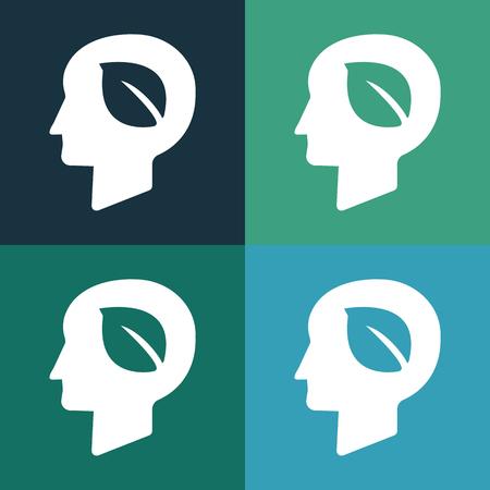the protector: Eco head protector icon