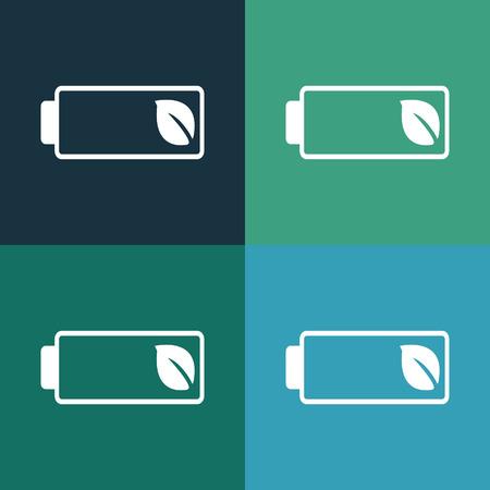 renew: eco battery icon