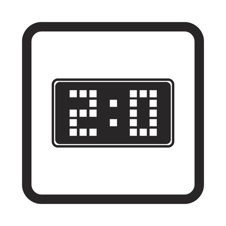 scoreboard: scoreboard icon Illustration