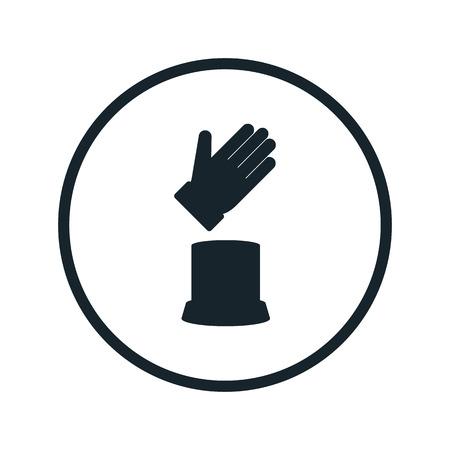 wadded: goalkeeper award icon Illustration