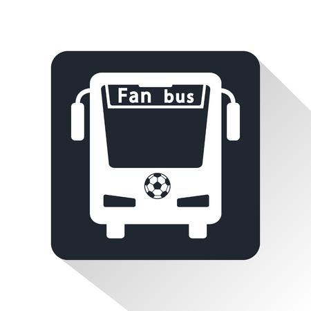 the fans: bus fans icon