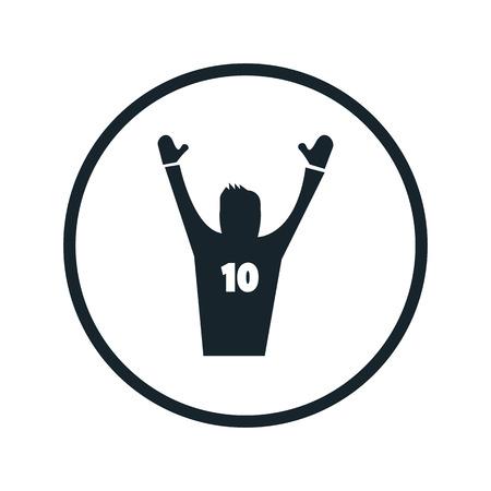 the fans: fans icon Illustration