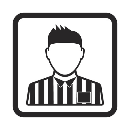 famous people: referee icon