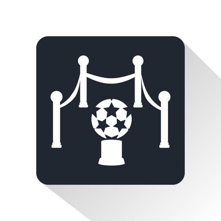 uefa: Golden Ball icon Illustration