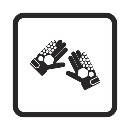 goalkeeper gloves icon