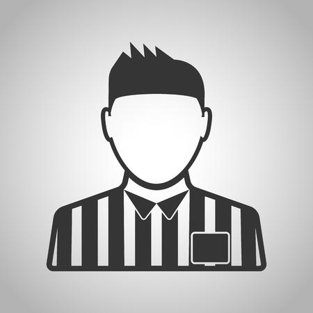arbitro: �rbitro icono Vectores