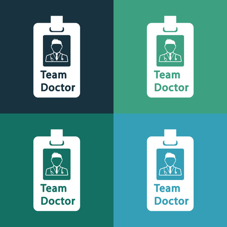 doctor icon: team doctor icon