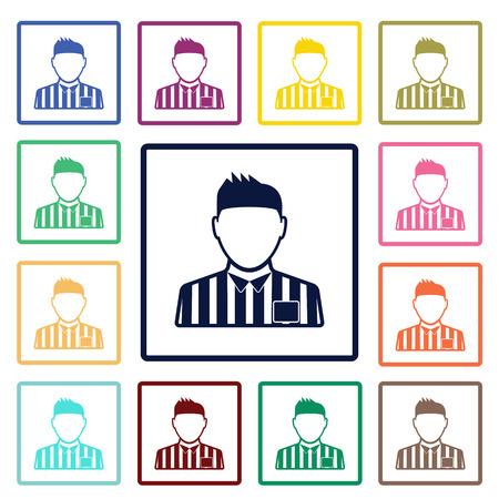 referee: referee icon