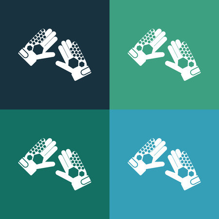 wadded: goalkeeper gloves icon