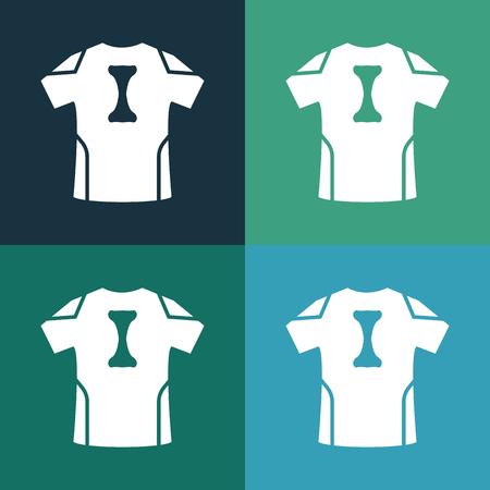 ander: Football kit icon Illustration