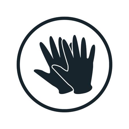 rubber glove: rubber glove icon