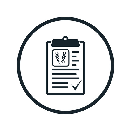 job descriptions: agreement icon Illustration
