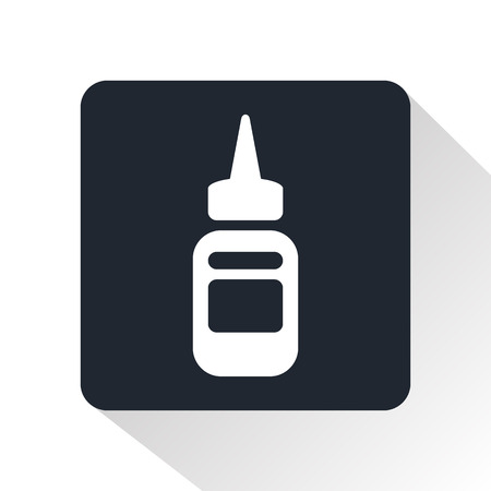 sterilization: paints for tattoo icon
