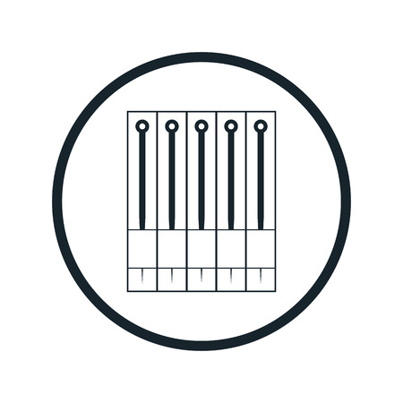 Consumables: tattoo needle icon