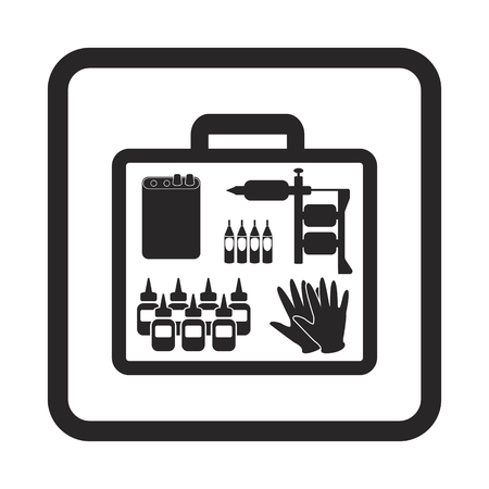 case: tattoo case icon