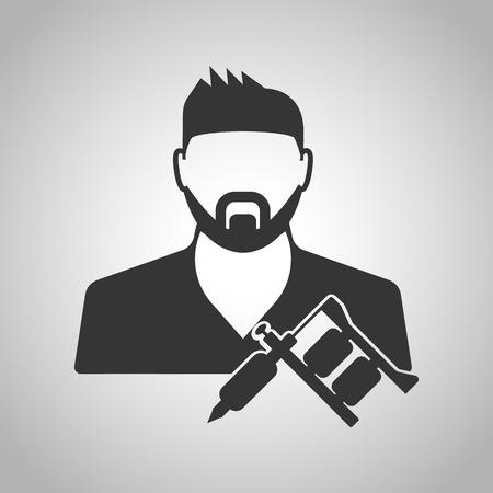 tattooing: tattooist icon