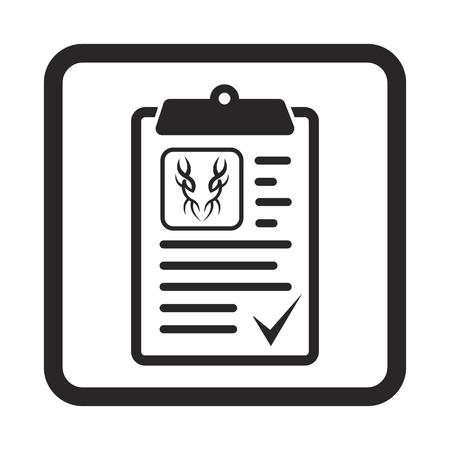 supervisor: agreement icon Illustration