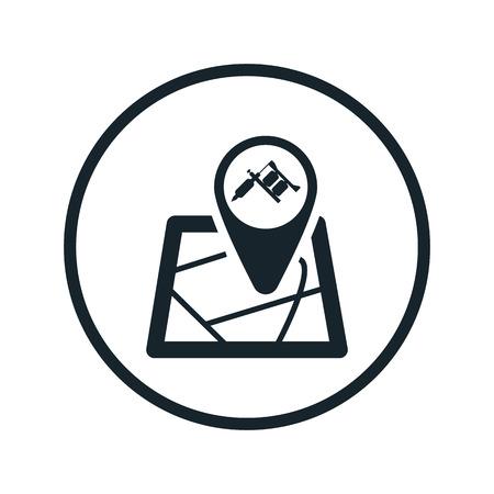 marker: marker tattoo icon