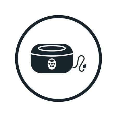 tattooing: sterilizer icon