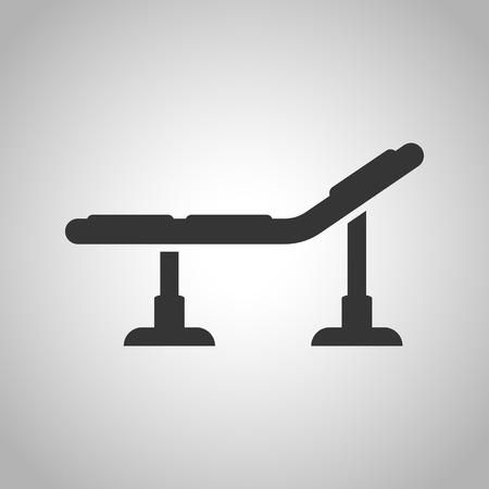 sterilization: tattoo table icon Illustration