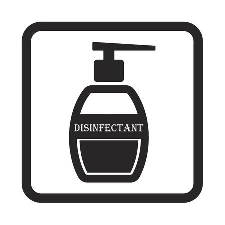 désinfectant icône
