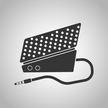 cords: pedals and clip cords icon