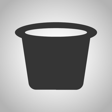 small tools: cap for paint icon Illustration