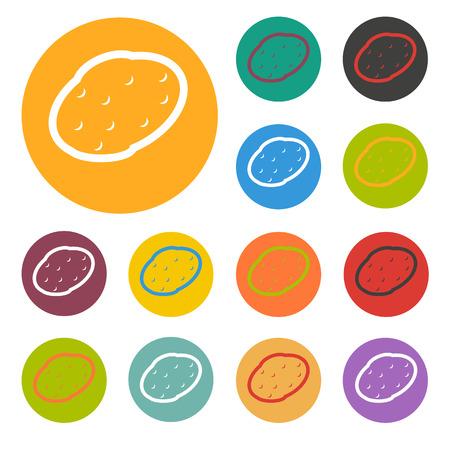starch: potato icon