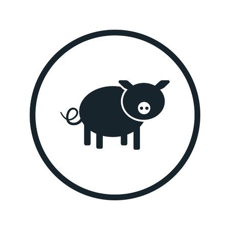 porcine: pig icon