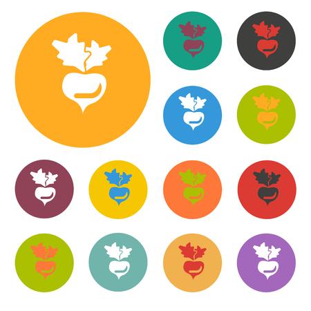 remolacha: icono de la remolacha