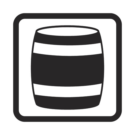wooden barrel: wooden barrel icon