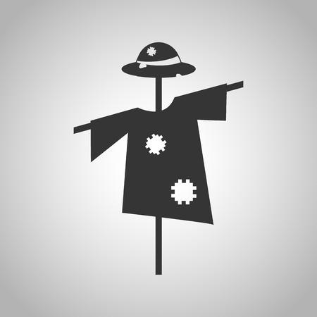 espantapajaros: icono de espantap�jaros Vectores
