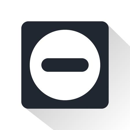 minus: minus button icon