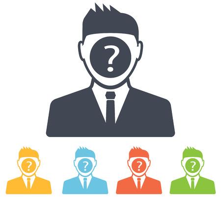 questionmark: question man icon Illustration
