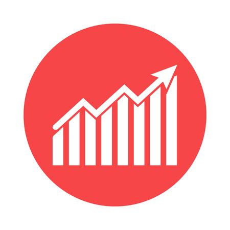 dynamics: growth dynamics icon Illustration