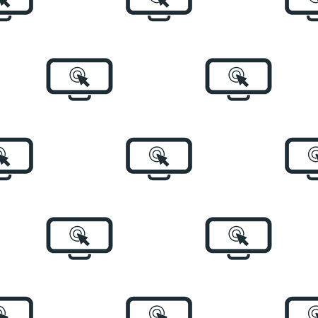 cleek: mouse cursor icon Illustration