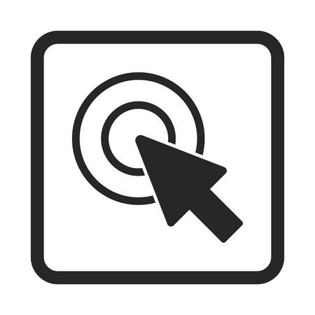 mouse cursor icon Illustration