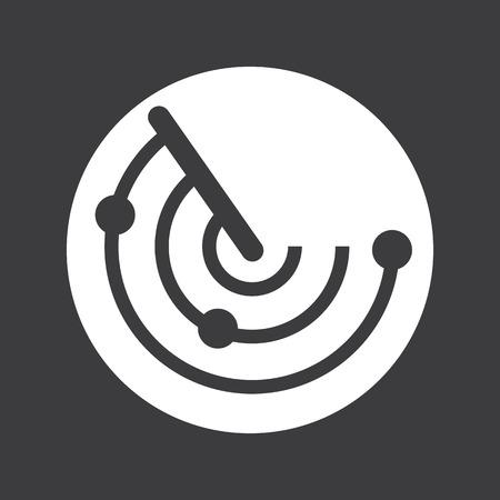 radar gun: radar icon