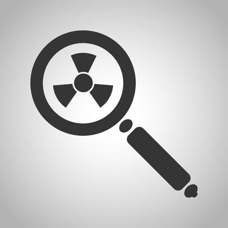 scrutiny: magnifying glass icon