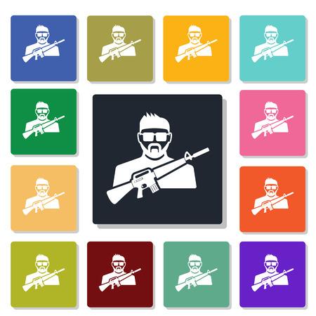 mercenary: mercenary icon