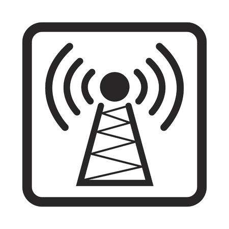 radio tower: radio tower icon