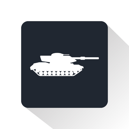 battlefield: tank icon Illustration