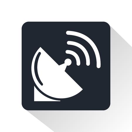 transmitting device: satellite dish icon