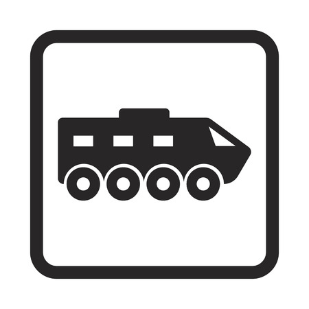 armored: armored vehicles icon Illustration