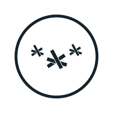 anti war: anti-hedgehog icon