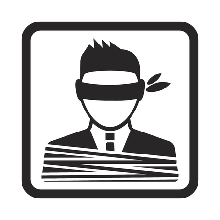 kidnapping: hostage icon