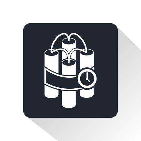 dinamita: icono de la dinamita